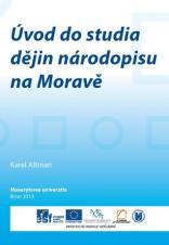 Obálka pro Úvod do studia dějin národopisu na Moravě
