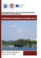 Obálka pro European Financial Systems 2015. Proceedings of the 12th International Scientific Conference