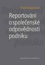 Obálka pro Reportování o společenské odpovědnosti podniku