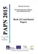 Obálka pro Potential Application of Plasma and Nanomaterials 2015. Book of Contributed Papers