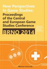 Obálka pro New Perspectives in Game Studies. Proceedings of the Central and Eastern European Game Studies Conference Brno 2014