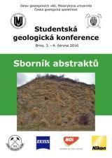 Obálka pro Studentská geologická konference 2016. Sborník abstraktů
