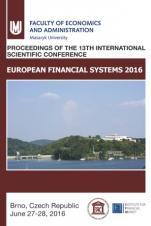 Obálka pro European Financial systems 2016