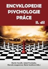 Obálka pro Encyklopedie psychologie práce, II. díl