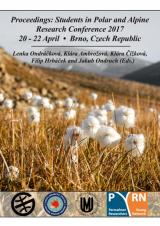 Obálka pro Proceedings: Students in Polar and Alpine Research Conference 2017