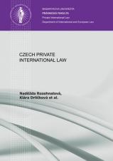 Obálka pro Czech Private International Law