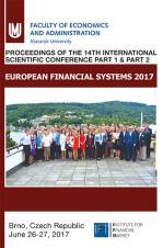 Obálka pro European Financial Systems 2017