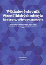 Obálka pro Výkladový slovník řízení lidských zdrojů: koncepty, přístupy, nástroje