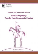 Useful Geography: Transfer from Research to Practice. Proceedings of 25th Central European Conference
